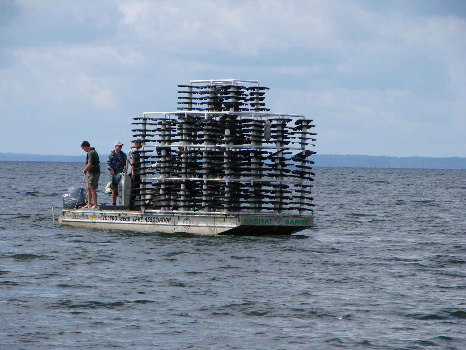Freshwater Artificial Reef Toledo Bend